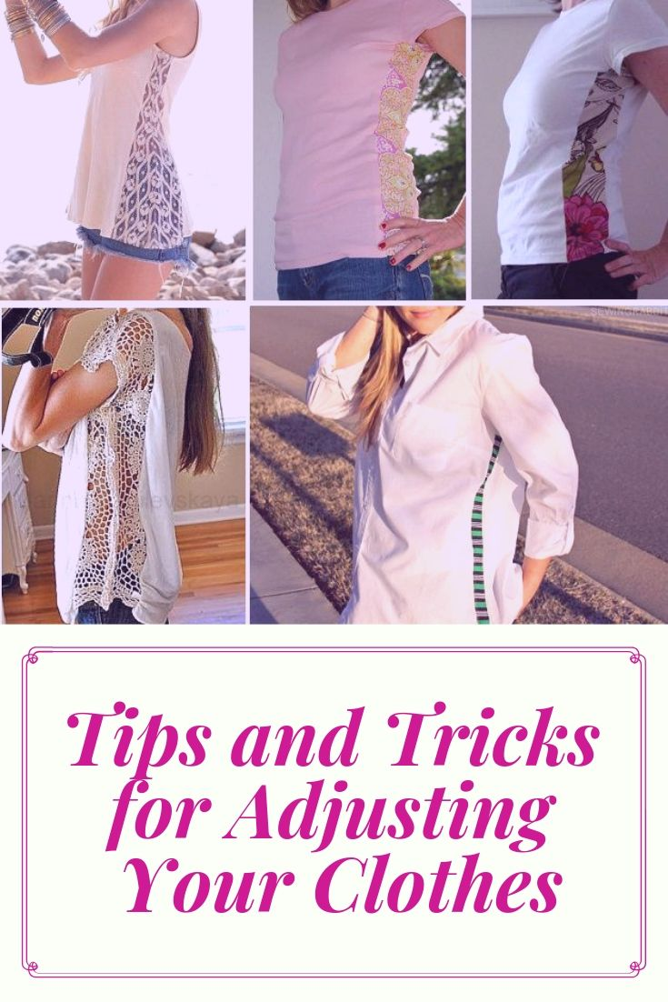 Tips and Tricks for Adjusting Your Clothes
