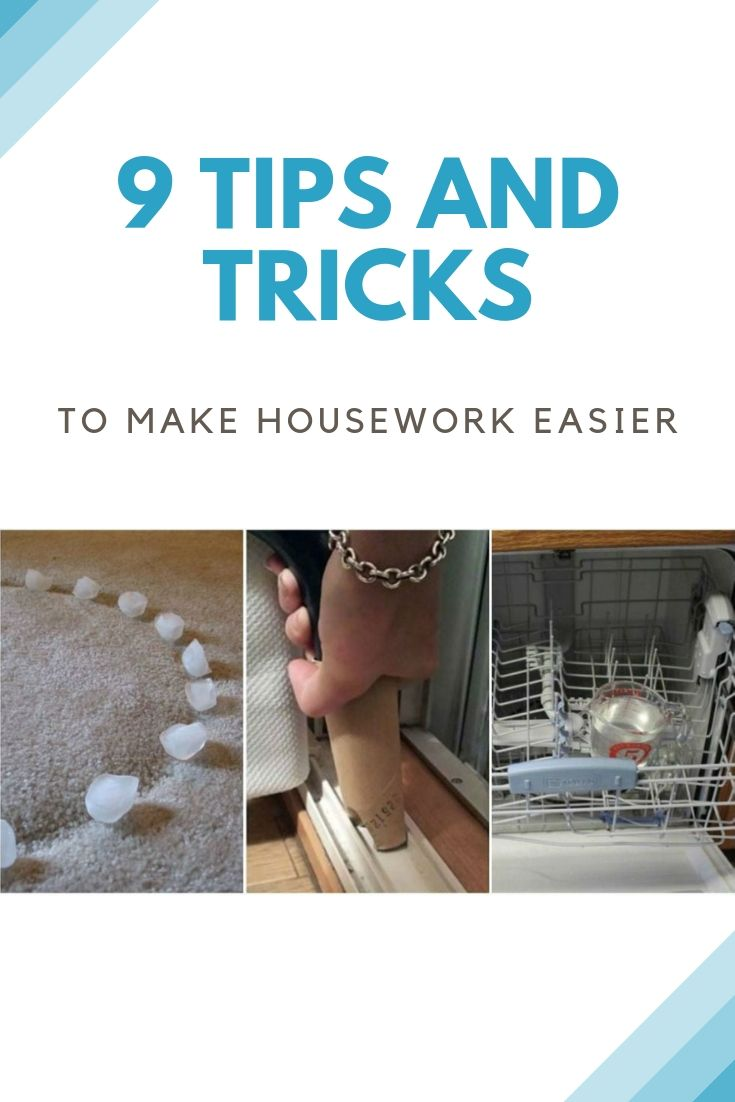 9 Tips and Tricks to Make Housework Easier