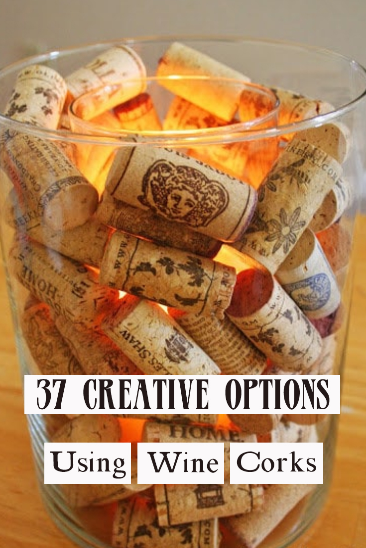 37 Creative Options Using Wine Corks