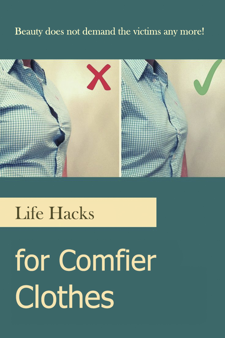 Life Hacks for Comfier Clothes