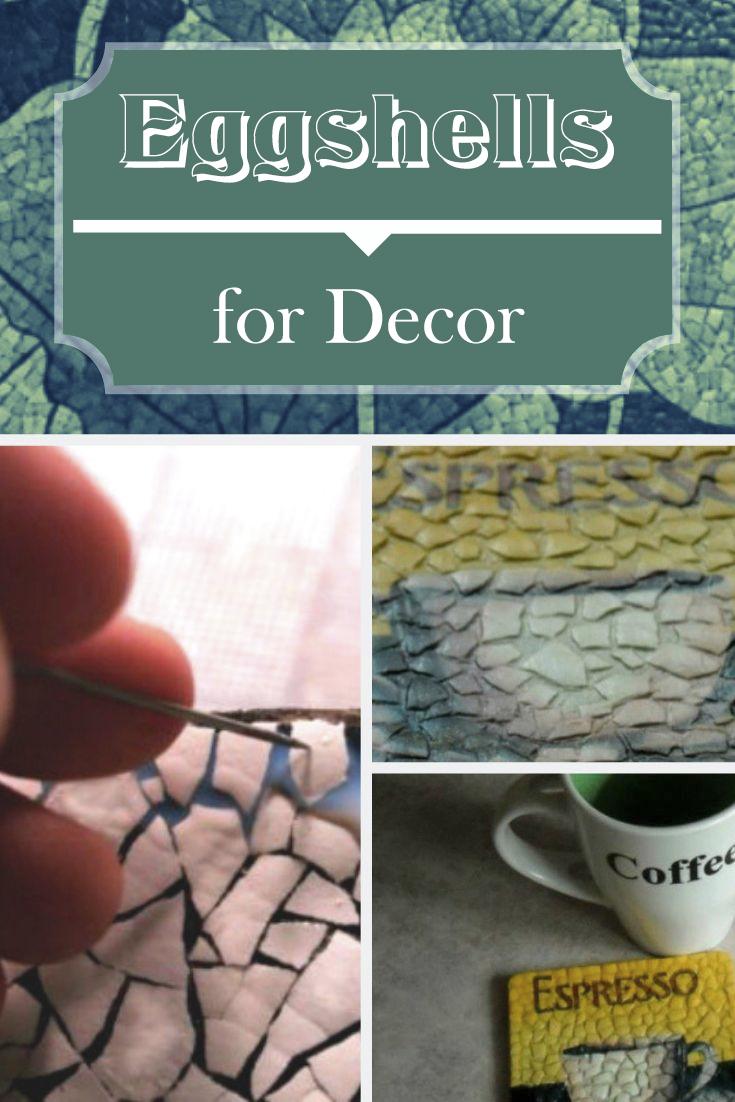 Eggshells for Decor