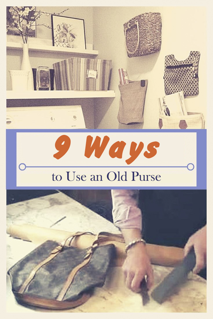 9 Ways to Use an Old Purse