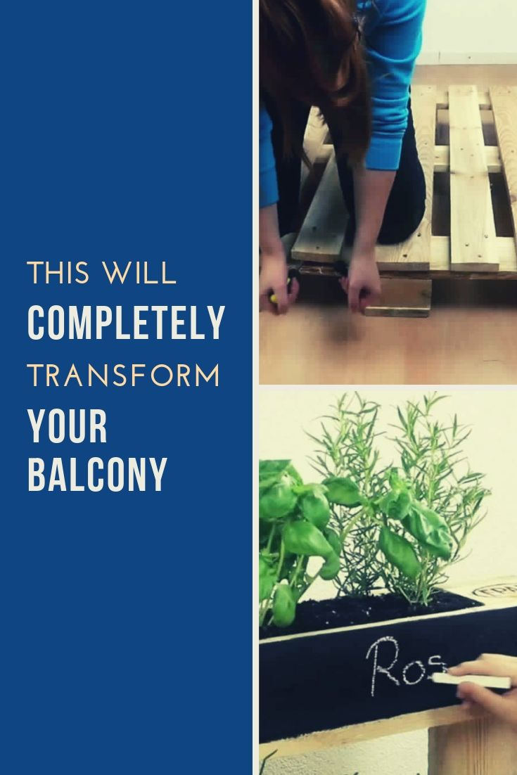This Will Completely Transform Your Balcony