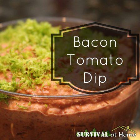 Bacon Tomato Dip Recipe