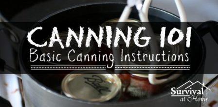 Canning 101: Basic Canning Instructions