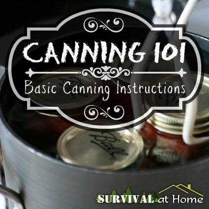 Canning 101: Basic Canning Instructions (via Survival at Home)