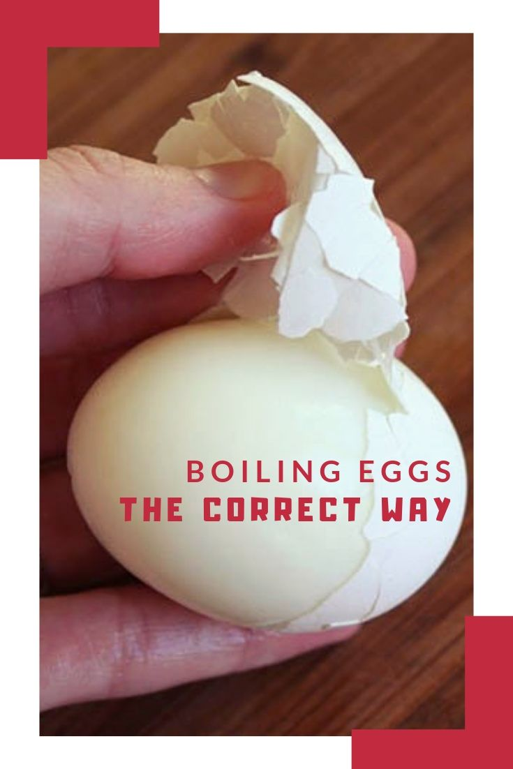 Boiling Eggs the Correct Way