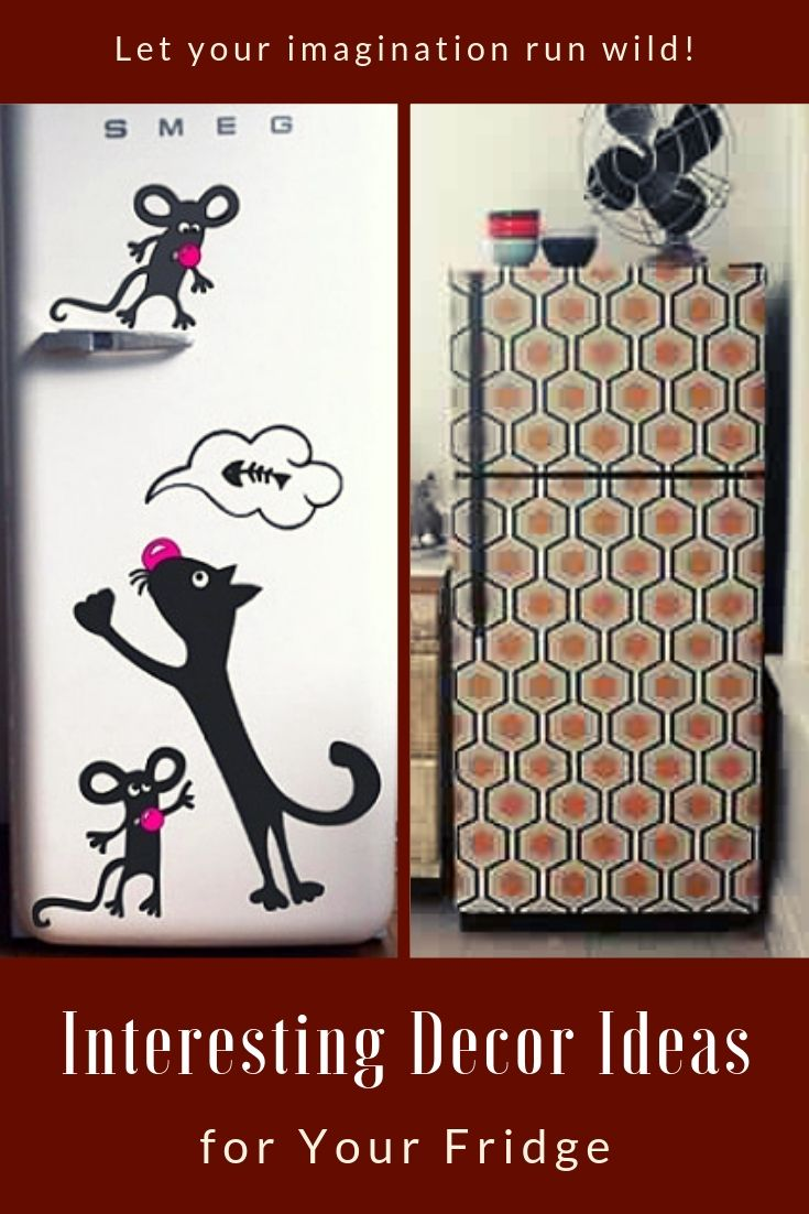 Interesting Decor Ideas for Your Fridge
