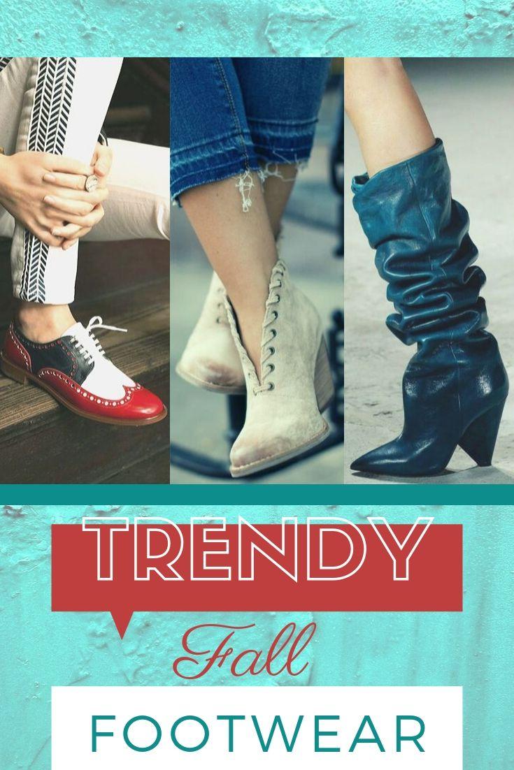 Trendy Fall Footwear
