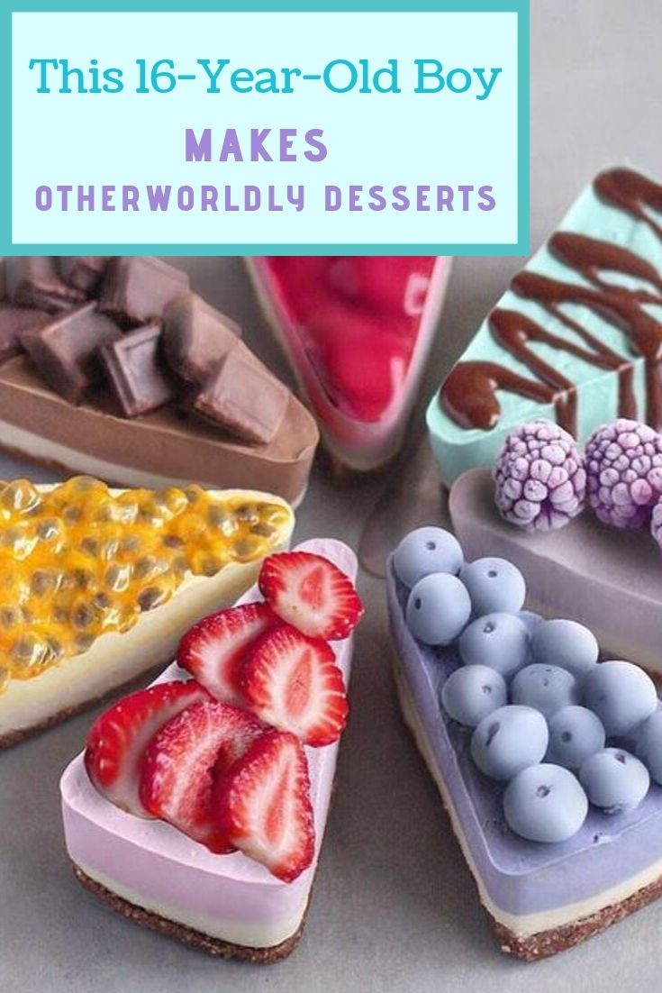 This 16-Year-Old Boy Makes Otherworldly Desserts