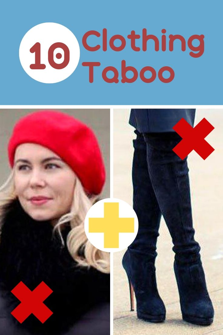 10 Clothing Taboo