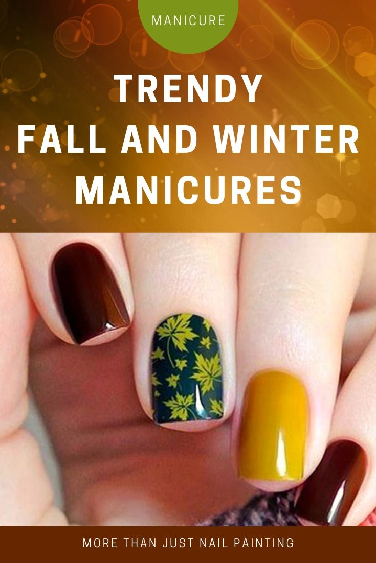 Trendy Fall and Winter Manicures