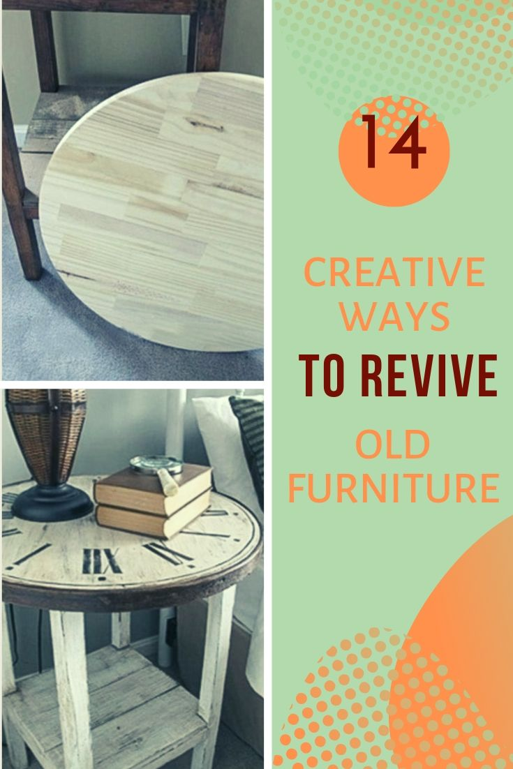 14 Creative Ways to Revive Old Furniture