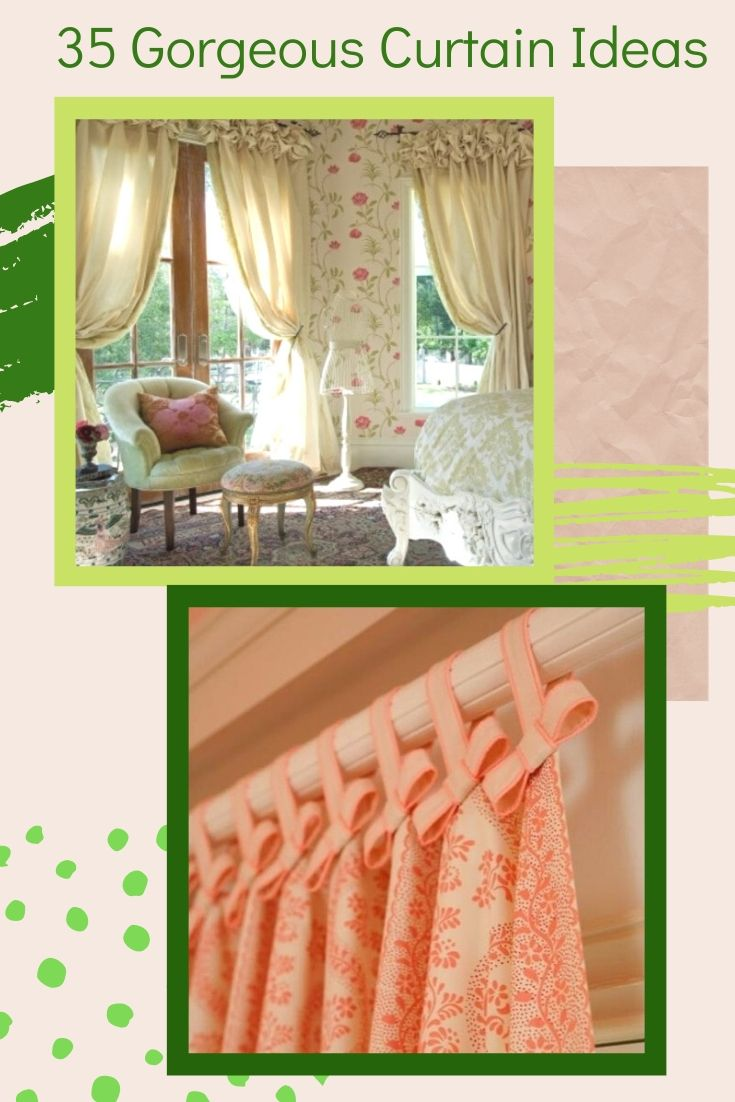35 Gorgeous Curtain Ideas