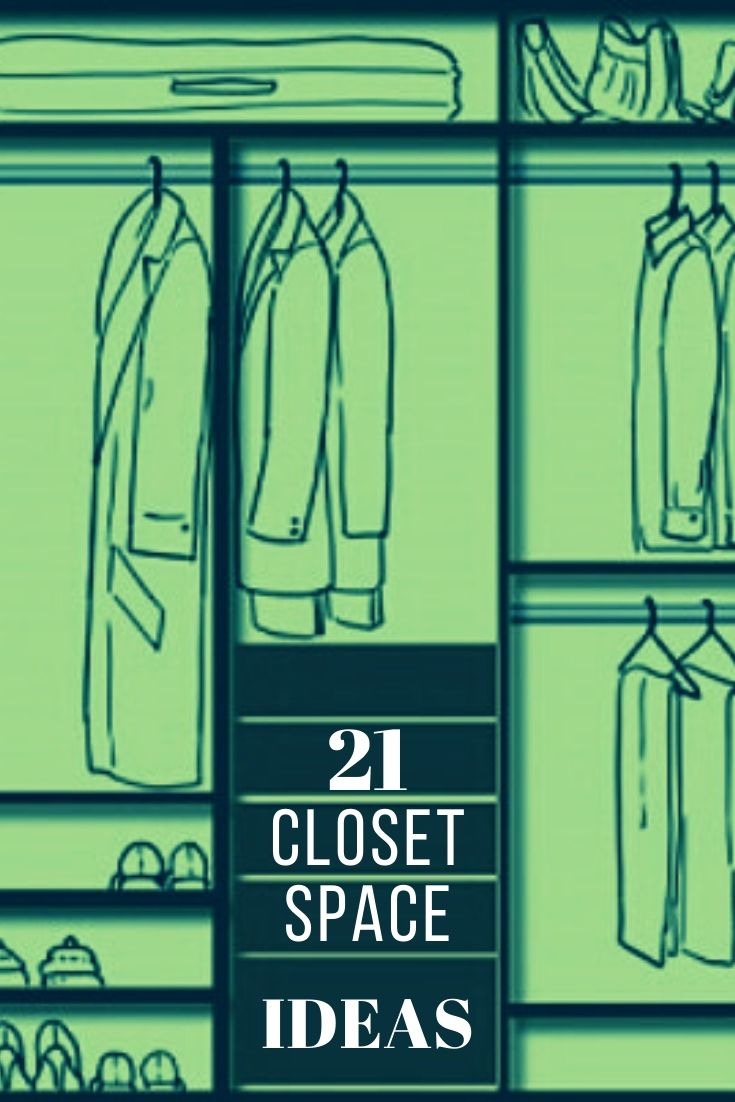 21 Closet Space Ideas