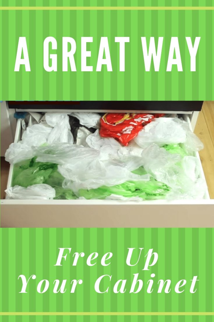 A Great Way Free Up Your Cabinet