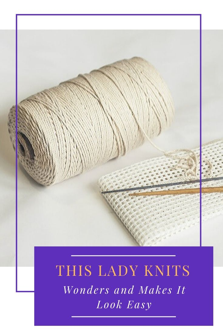 This Lady Knits Wonders and Makes It Look Easy