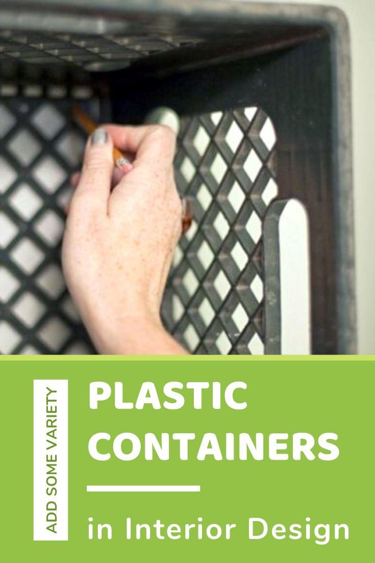 Plastic Containers in Interior Design